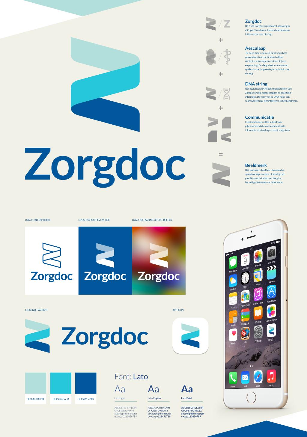 Huisstijl - Logo - Online-identity_Zorgdoc