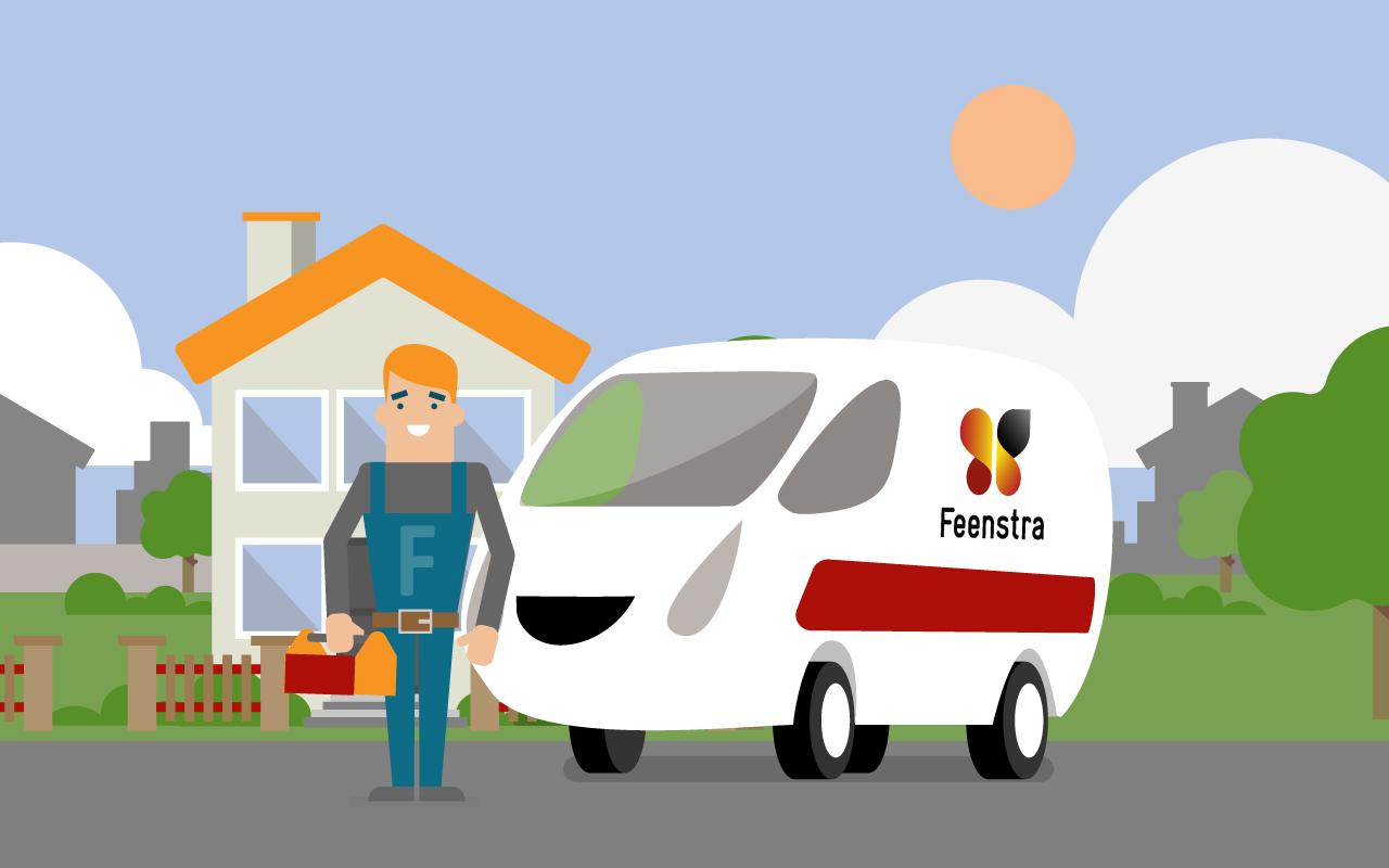 Aan de slag voor Feenstra